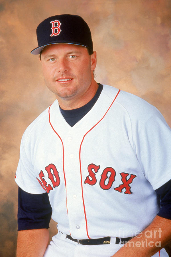 Roger Clemens Photograph by Mlb Photos
