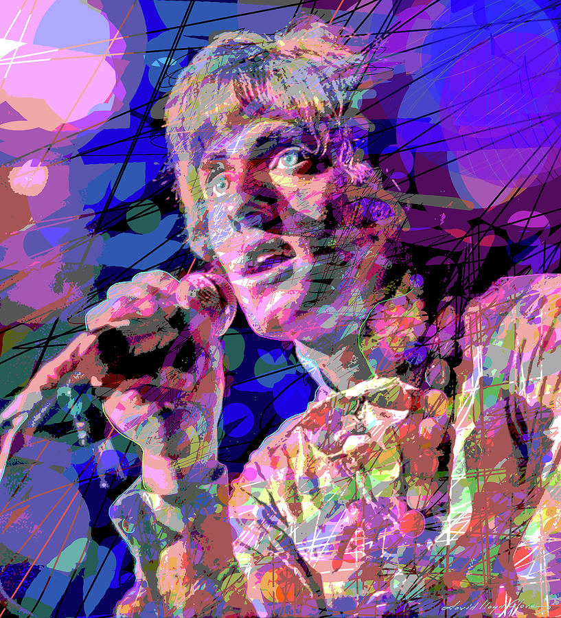 Roger Daltrey The Who Painting