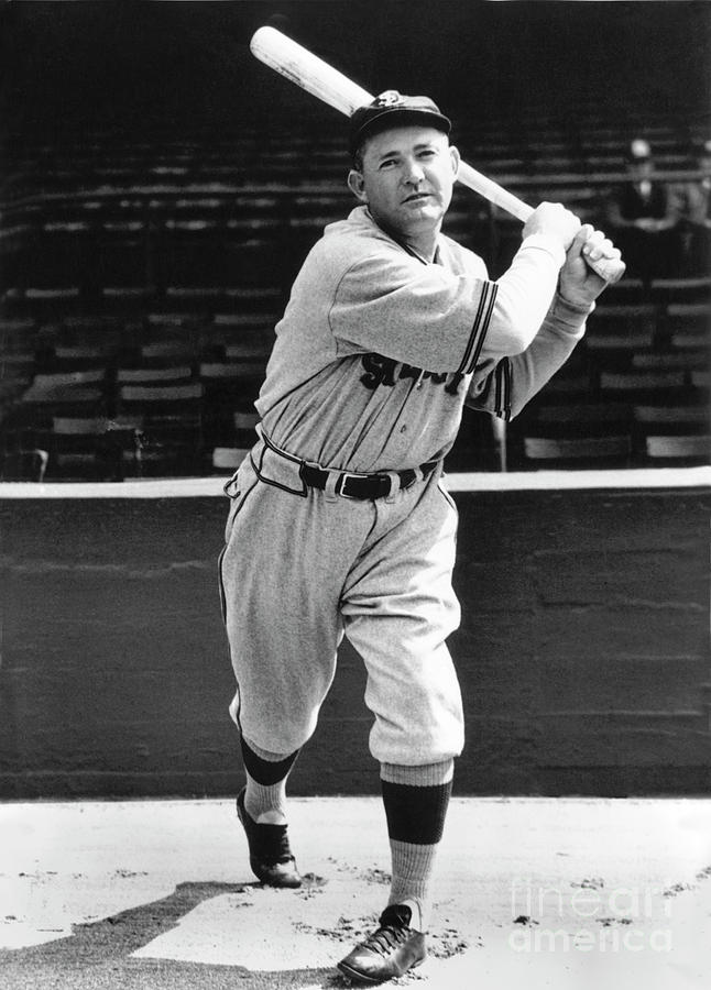 Rogers Hornsby Photograph by National Baseball Hall Of Fame Library
