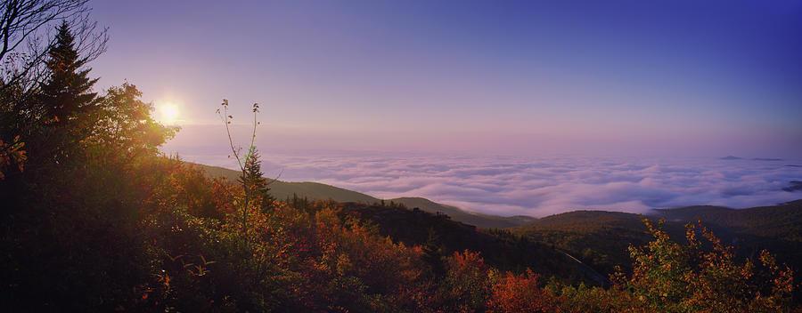 Rolling Clouds Sunrise by Daniel Brinneman