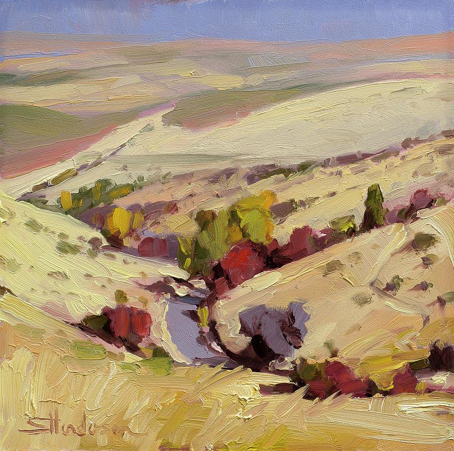 Rolling Landscape Painting