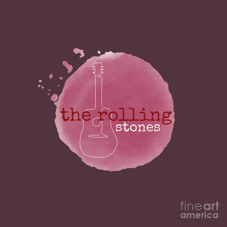 Rolling Stones Digital Art