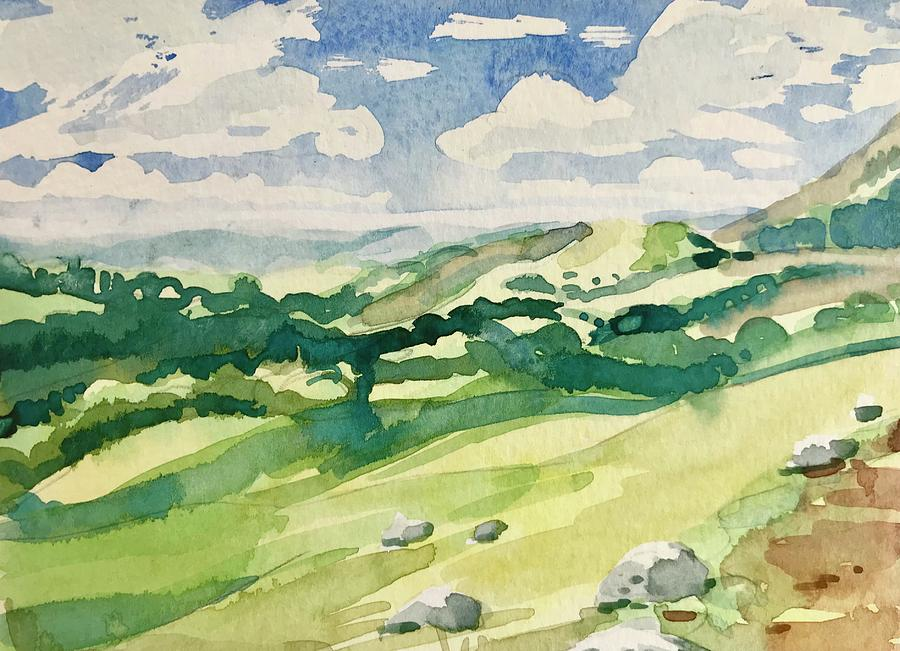 Rollling Hills Painting
