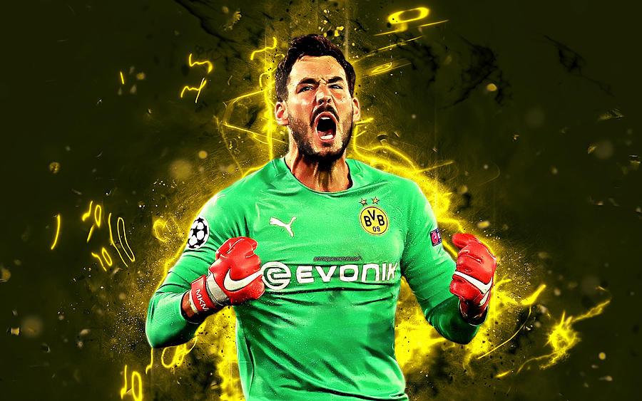 Roman Burki Swiss footballers goalkeeper Borussia Dortmund FC soccer Burki BVB Bundesliga football n by Phelp Shawkins