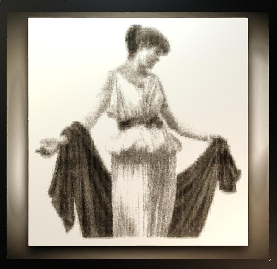 Roman Fashionista Digital Art