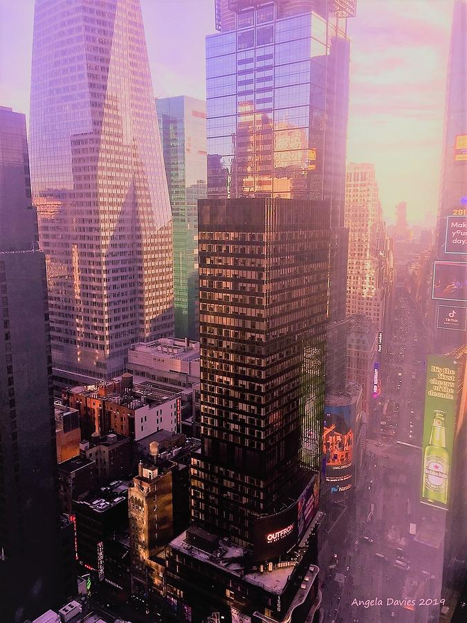 Room With A View In New York City by Angela Davies