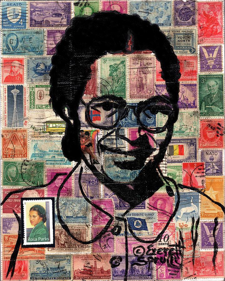 Rosa Parks by Everett Spruill
