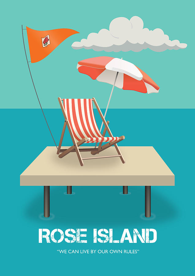 Rose Island Digital Art - Rose Island - Alternative Movie Poster by Movie Poster Boy