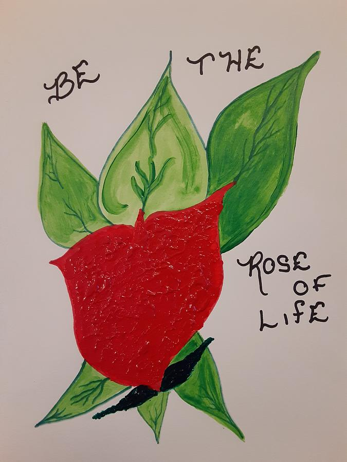 Rose Of Life Mixed Media