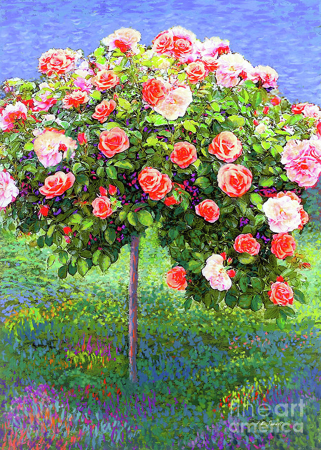 Rose Tree Reverie Painting