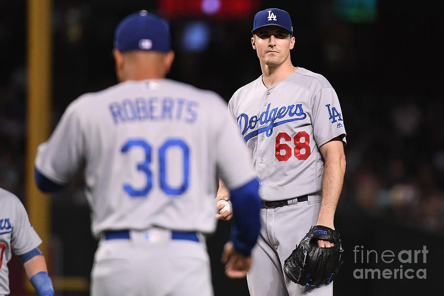 Ross Stripling And Dave Roberts Photograph by Jennifer Stewart