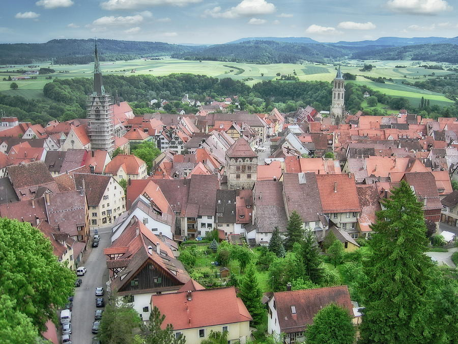 Rottweil Aerial View Photograph