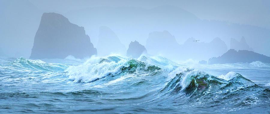 Rough Waters by John Poon