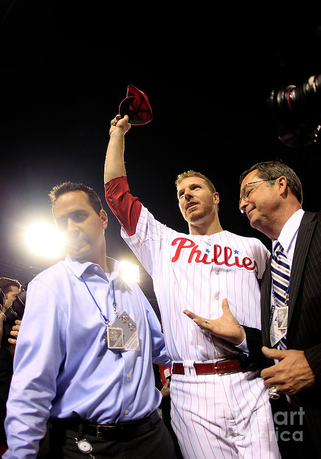 Roy Halladay Photograph by Chris Trotman