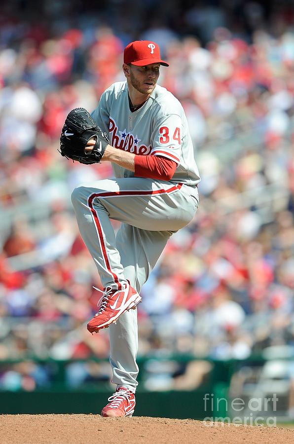 Roy Halladay Photograph by G Fiume