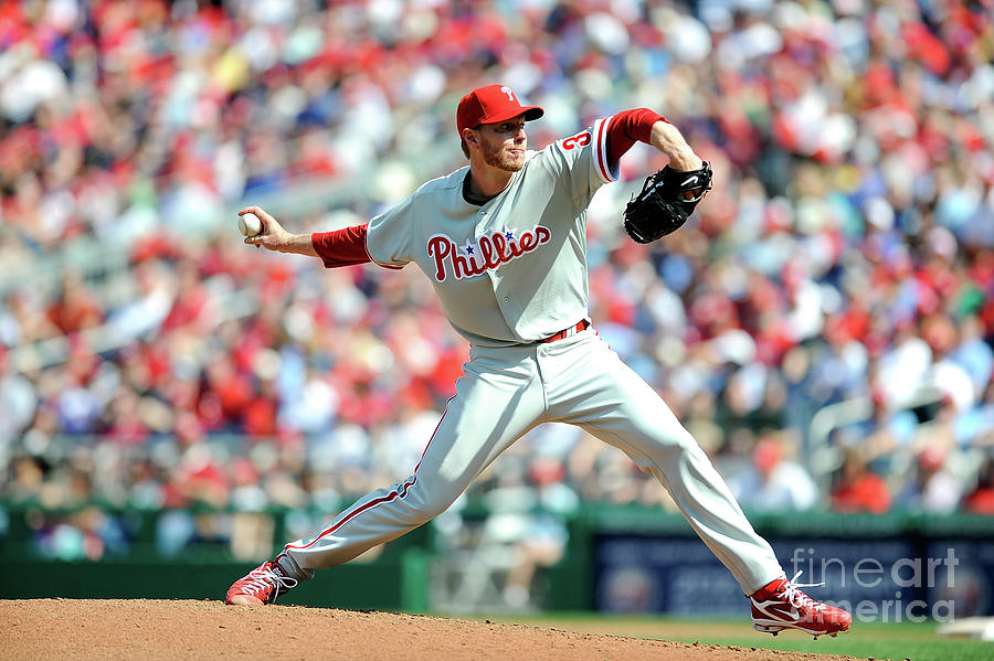 Roy Halladay Photograph by Greg Fiume