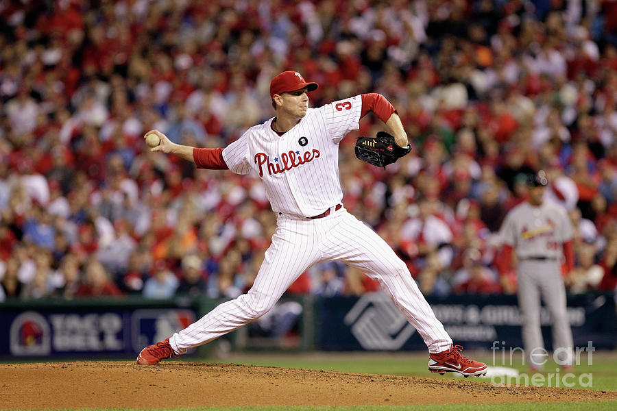 Roy Halladay Photograph by Rob Carr