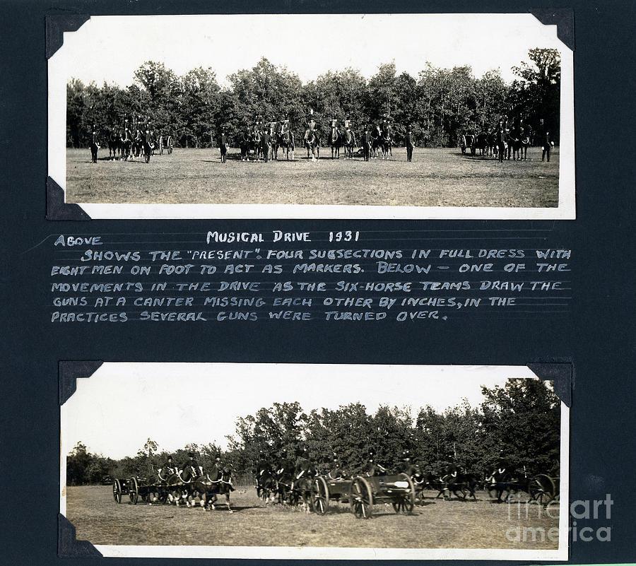 Royal Canadian Horse Artillery Musical Drive Photograph
