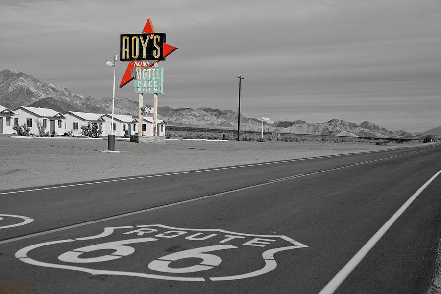 Roy's at Amboy by Matthew Bamberg
