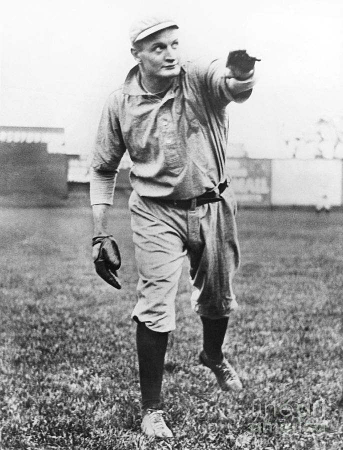 Rube Waddell Photograph by National Baseball Hall Of Fame Library