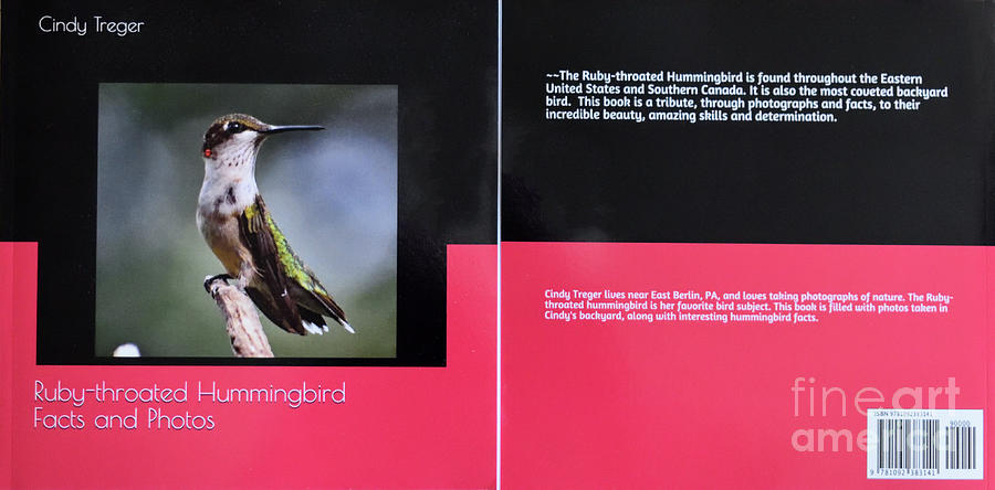 Ruby-throated Hummingbird Facts And Photos Book by Cindy Treger