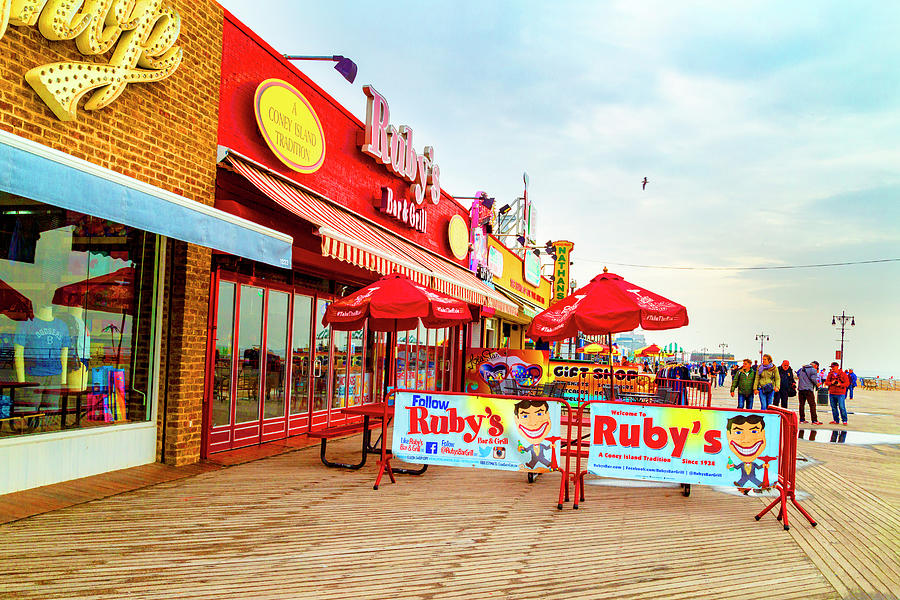 Rubys at Coney Island by Kay Brewer