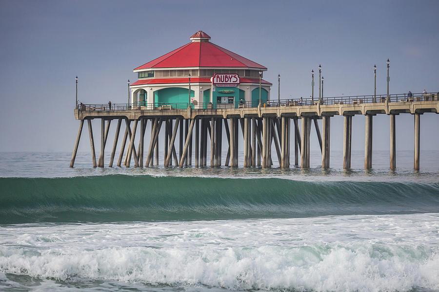 Rubys on the Huntington Beach Pier by Cliff Wassmann