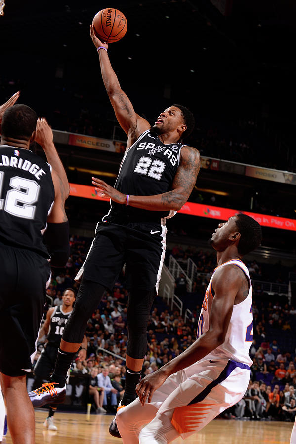 Rudy Gay Photograph by Barry Gossage