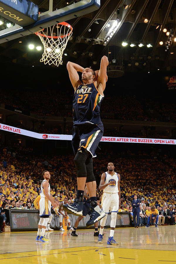 Rudy Gobert Photograph by Noah Graham