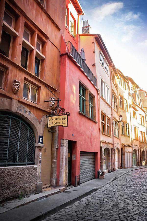 Rue St Georges Vieux Lyon France Photograph