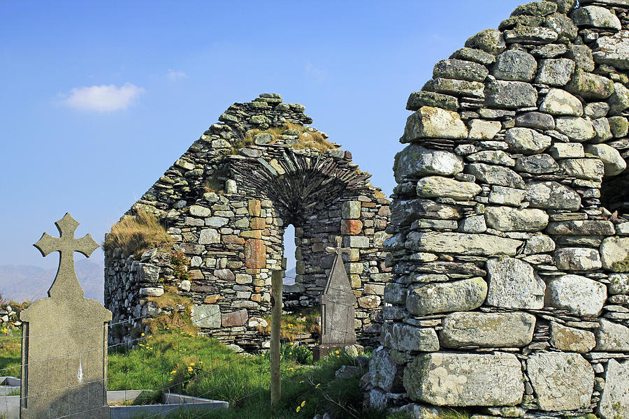 RUINS OF KILCATHERINE CHURCH by Jennifer Robin