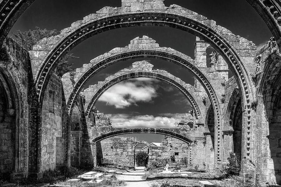 Ruins Of Santa Marina Of Dozo Photograph