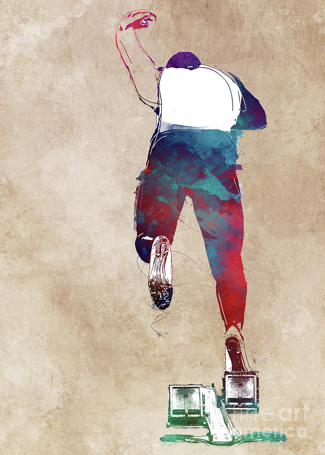 Runner #runner #sport #jogging Digital Art