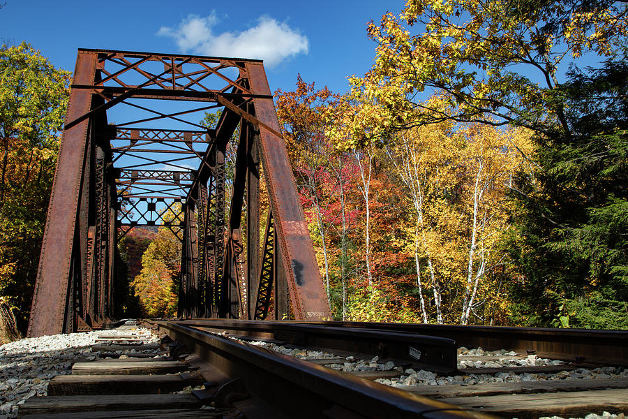 Running down the tracks by Jeff Folger