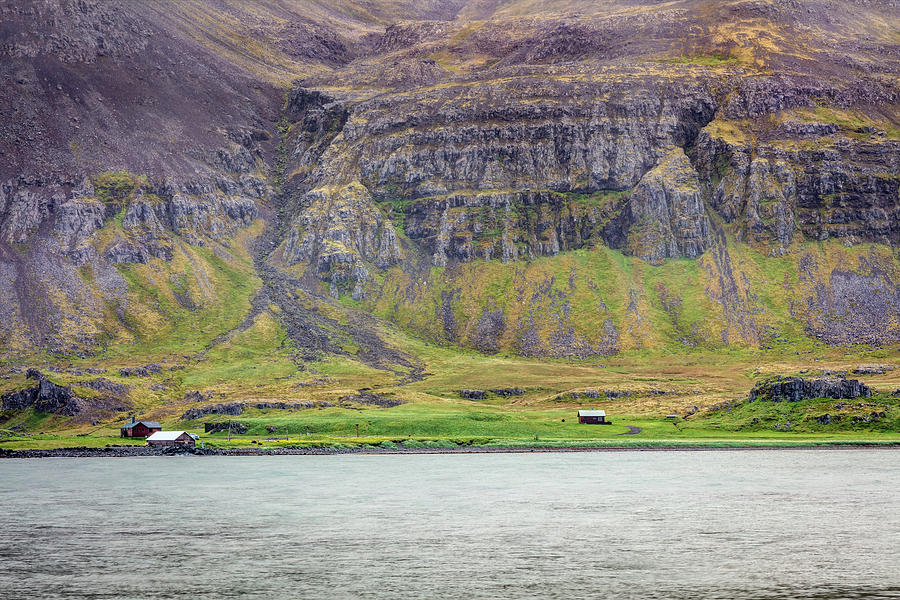 Rural Life In The Remote Westfjords Of Iceland Photograph