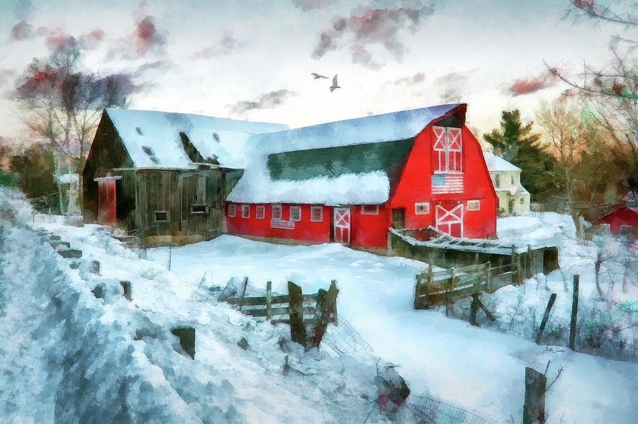 Rural Lucky Acres Farm by Betty Denise