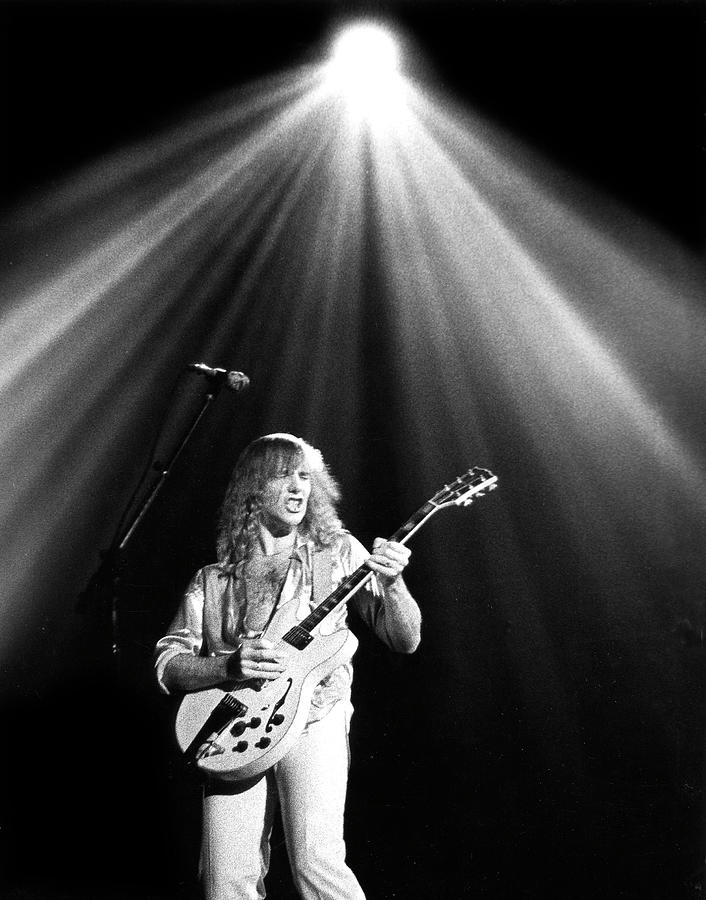 Alex Lifeson Photograph - Rush by Sue Arber