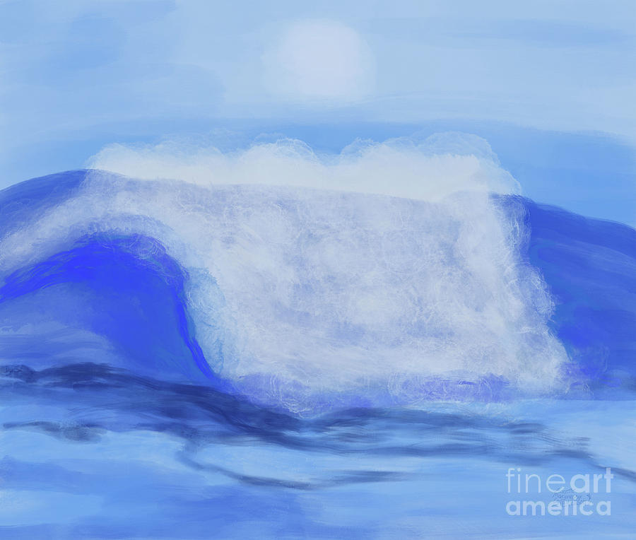 Rushing Waves by Annette M Stevenson