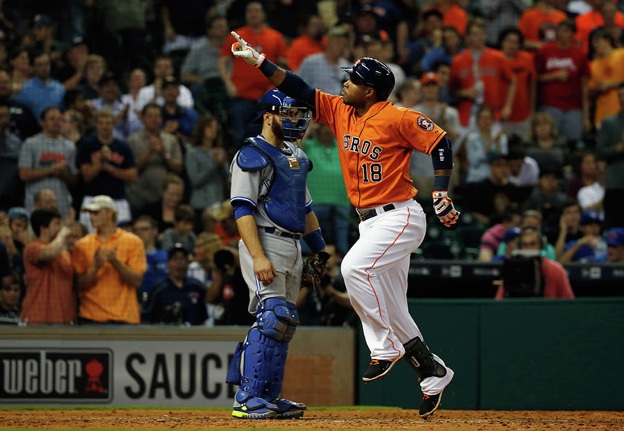 Russell Martin and Luis Valbuena Photograph by Scott Halleran