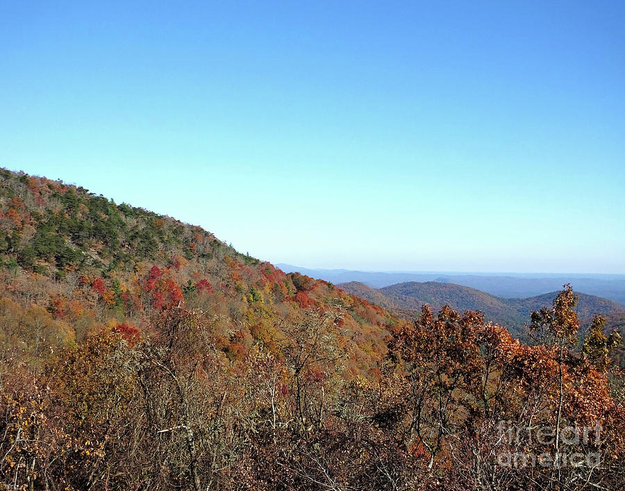 Russell Scenic Hwy348  Ga 14 Photograph