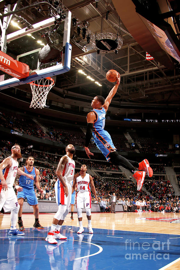 Russell Westbrook Photograph by Brian Sevald