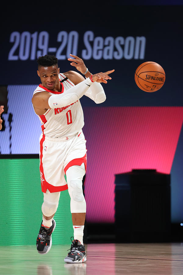 Russell Westbrook Photograph by David Sherman