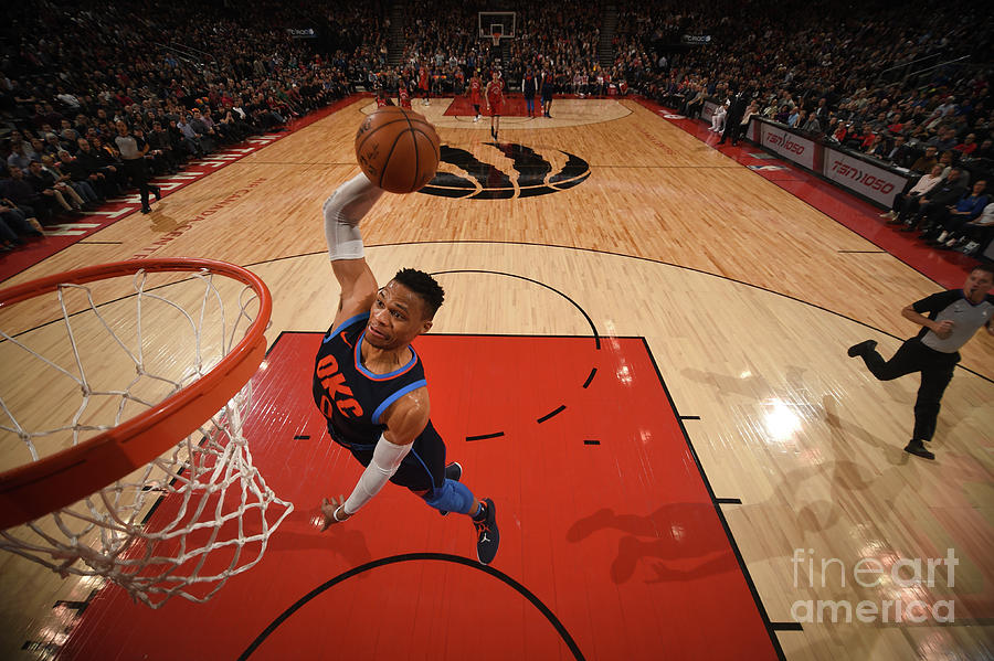 Russell Westbrook Photograph by Ron Turenne