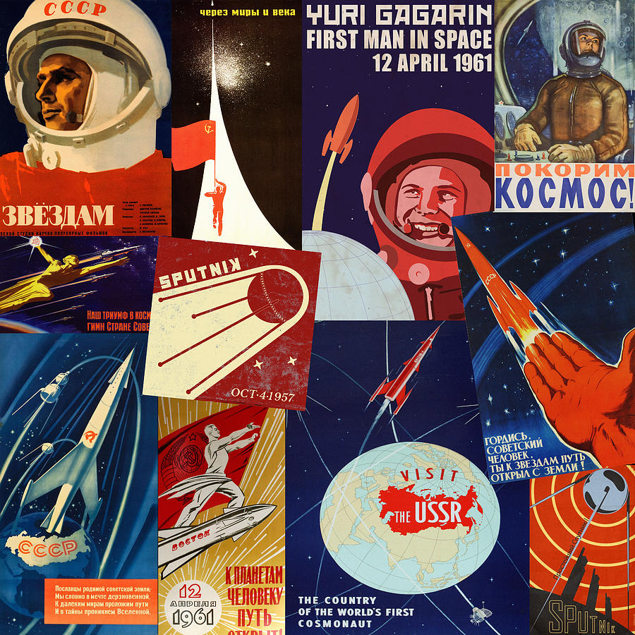 Russian Space Travel by Andrew Fare