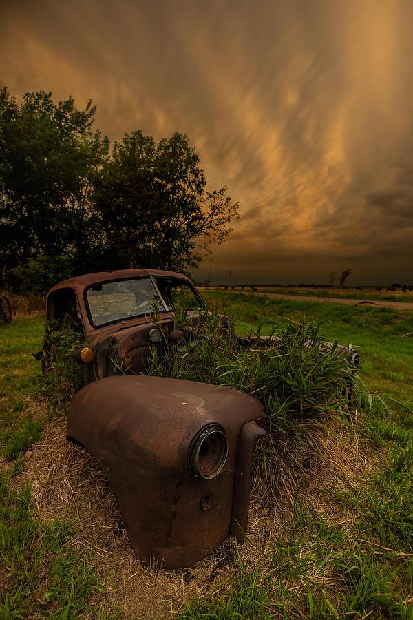 Mammatus Photograph - Rust Never Sleeps by Aaron J Groen