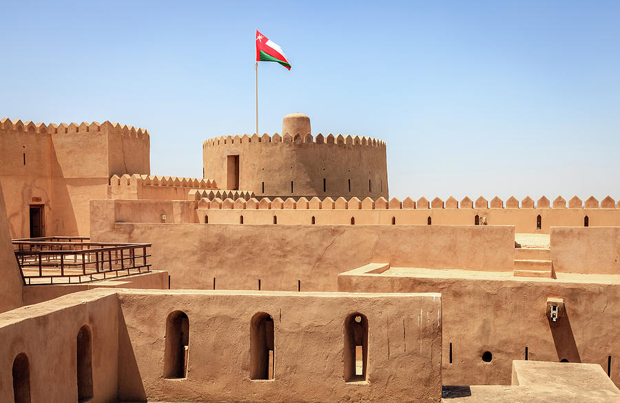 Rustaq Fort, Oman Photograph