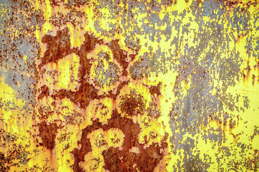 Rusted Surface Background Photograph