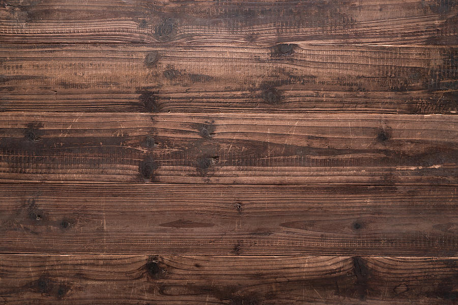 Rustic Brown Weathered Wood Grain Photograph by MirageC