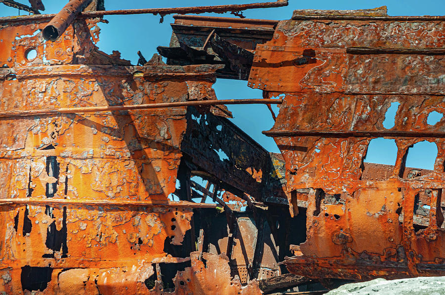 Rusting Shapes Photograph