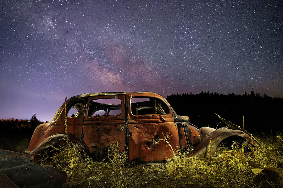 Rusting Under The Stars Photograph